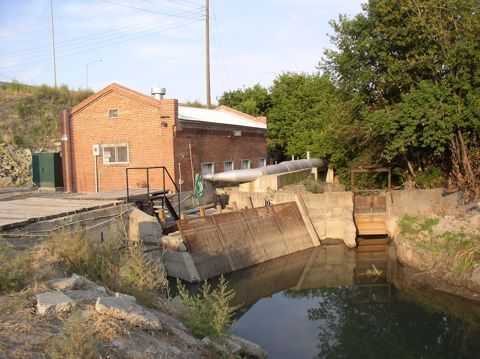Outside Pump House for Lockwood Irrigation District