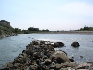 Water Entry in Yellowstone River to Lockwood Irrigation District Main Canal
