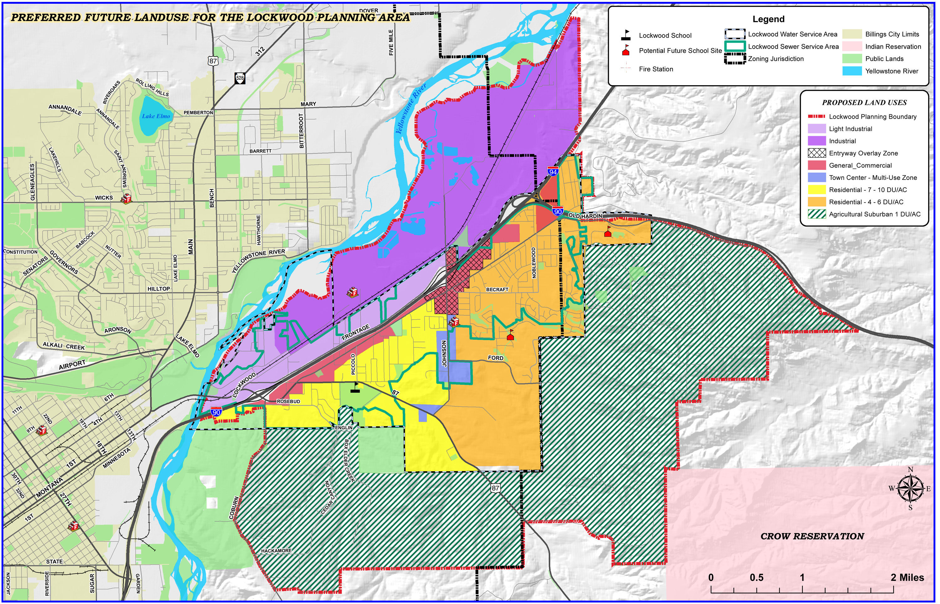 map of proposed Lockwood LandUseGrowthPolicy 1117 Lockwood