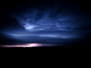 Billings Montana Lightning Storm 9-7-13