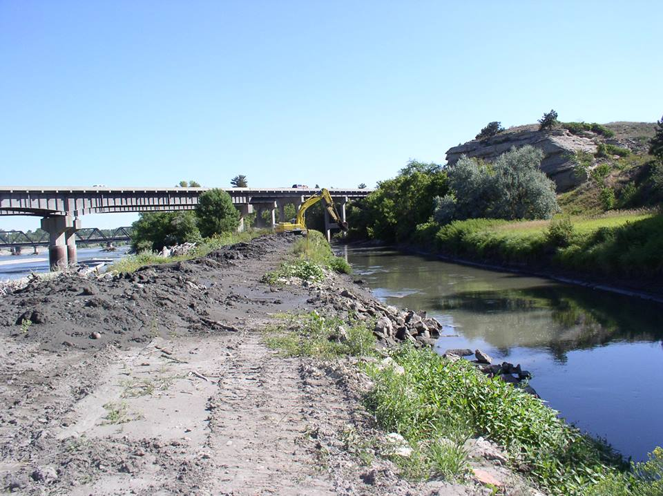 Lockwood Irrigation Main Canal off Yellowstone River